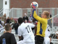 Men's Soccer Team Scores First Conference Victory