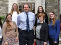 College students visit Poughkeepsie Journal Offices