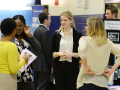Students Prepare for the Employment Fair