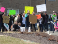 Sit-in Stands Up for Mount Community