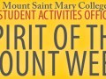 Spirit of The Mount Week